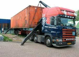 Aflevering container